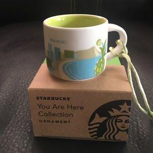 Starbucks Mug Ornament Collection